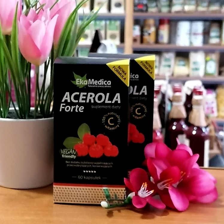Kapsułki Acerola Forte 60 szt
