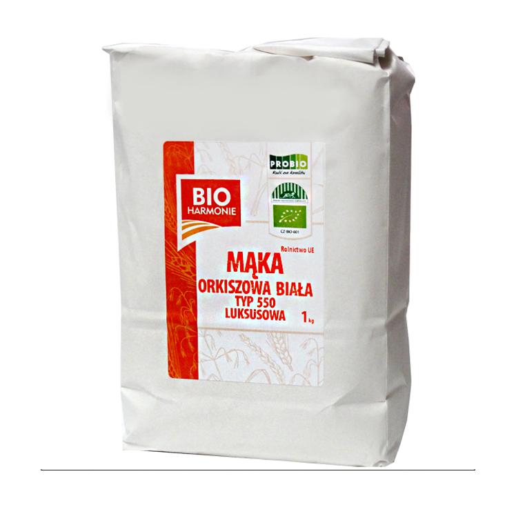 Mąka ORKISZOWA typ 550 biała Luksusowa BIO 1kg