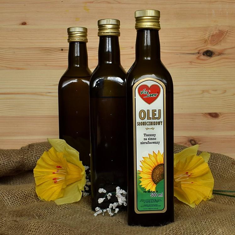 Olej słonecznikowy 500ml