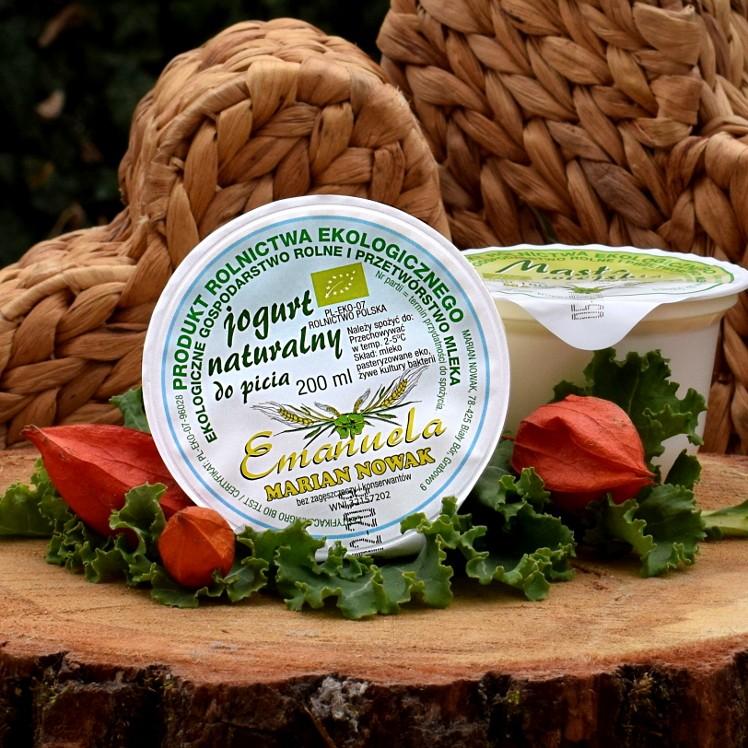Jogurt naturalny EKO 200ml