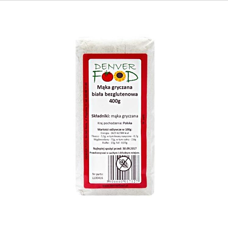 Mąka gryczana biała 400g