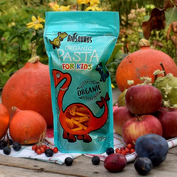 Makaron dla dzieci BioSaurus bez glutenu 200 g